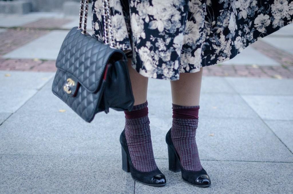 fall fashion trend: socks