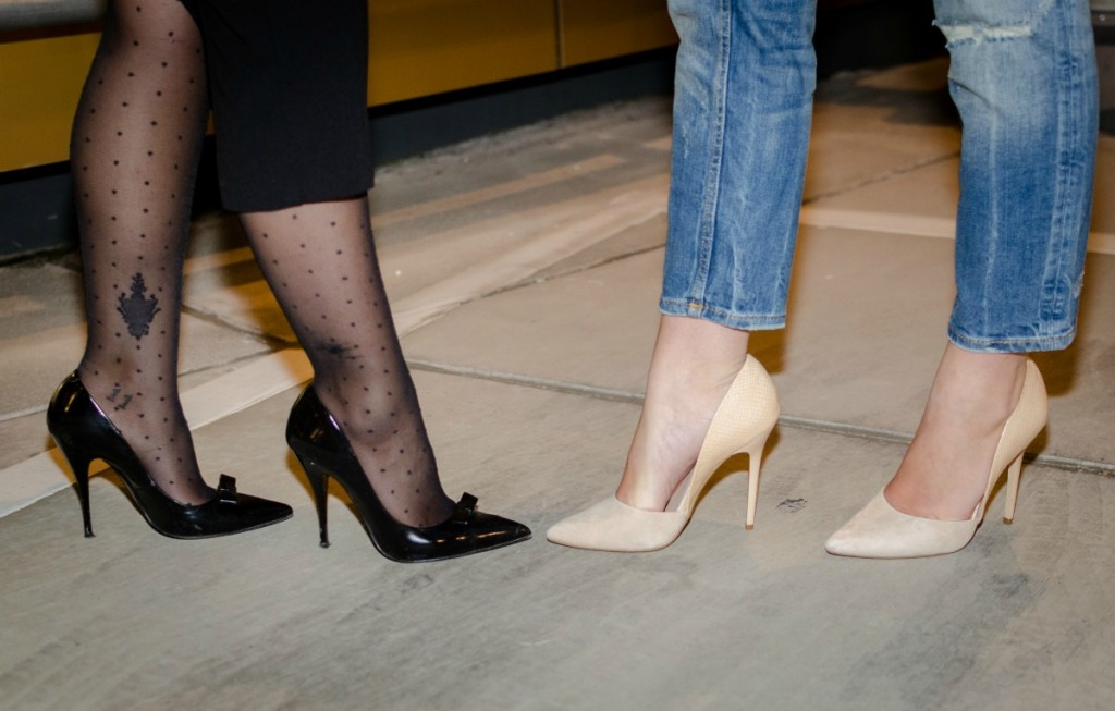 how to wear stiletto shoes 4