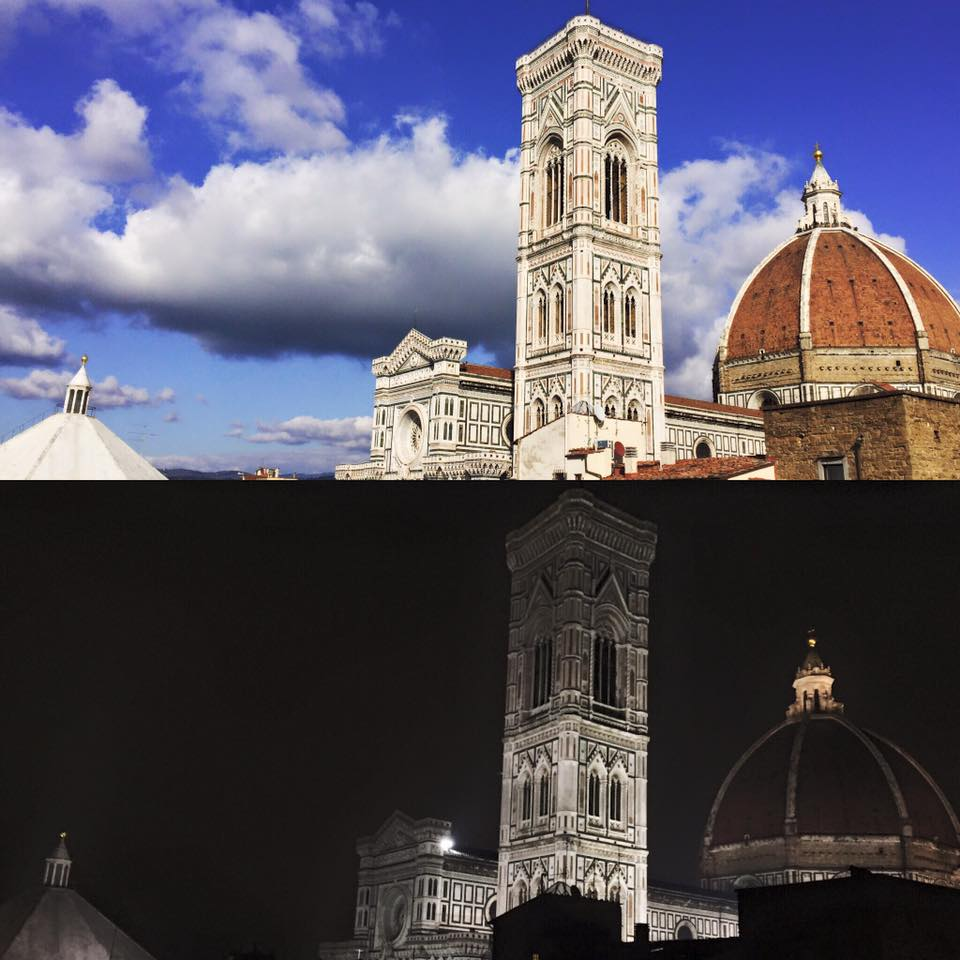 the duomo-day and night
