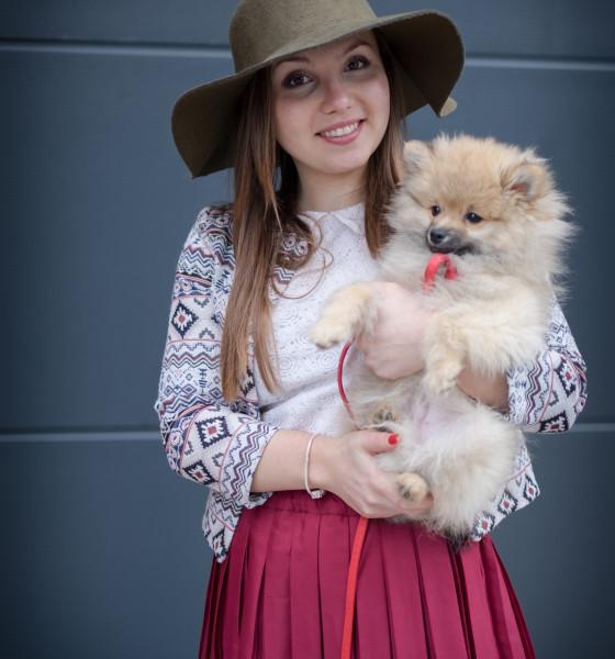 Дамата с кучето