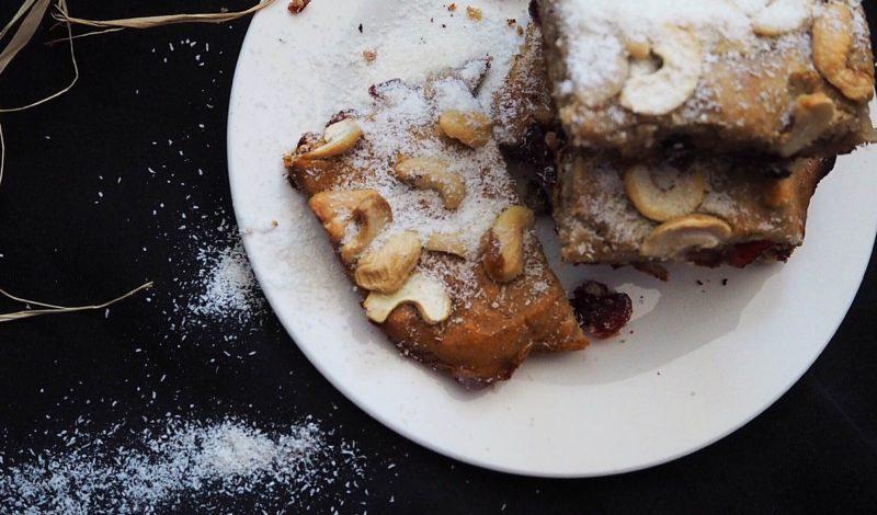 """Кекс """"Блонди"""" с кокос без брашно и захар"""