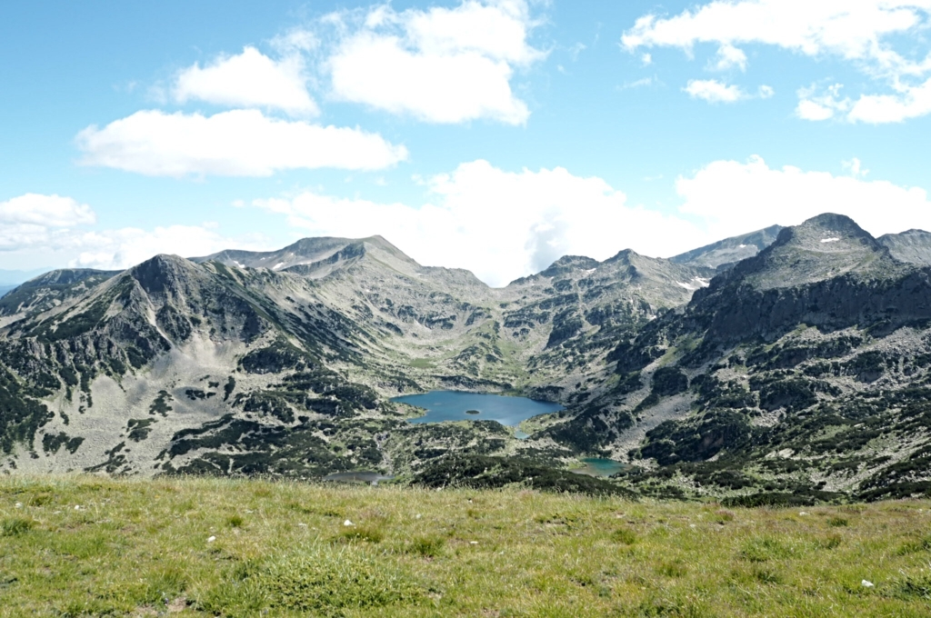По пътя за връх Полежан, видяхме Попово езеро :)