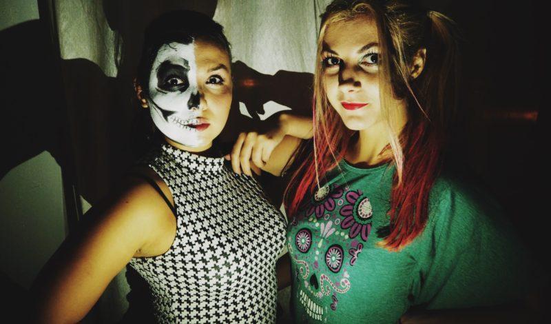 Halloween с Виктор Калдерон и Zombie Boy